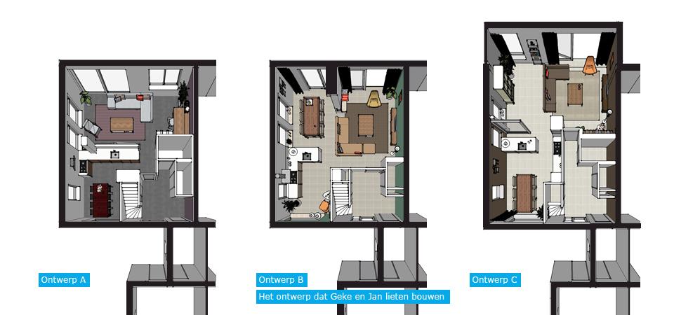 Vierkante woonkamer indelen for Vierkante woonkamer inrichten