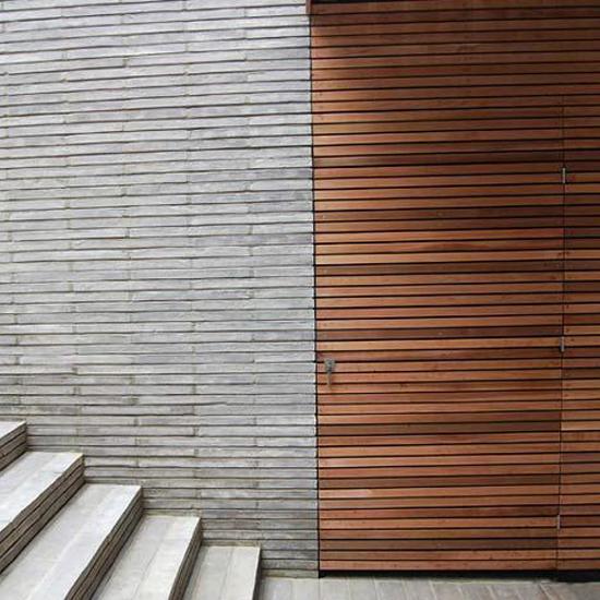 7_Baksteen en hout_blinde deur