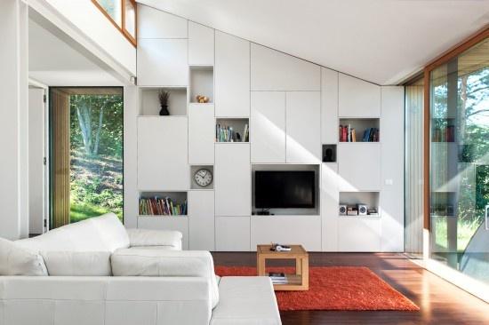 Meneer helderder berg rommel op in een mooie inbouwkast 10 inspirerende voorbeelden - Deco gezellige lounge ...