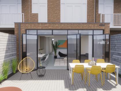 Uitbouw en interne renovatie Amsterdam Zuid Rivierenbuurt